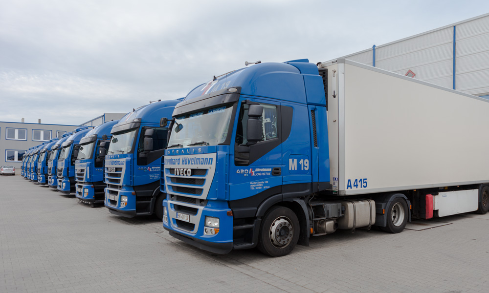 Chilled and frozen transports transport logistics